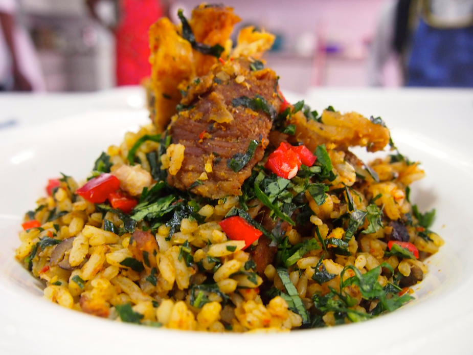 Delicious and healthy but no more so than other staple Nigerian food.-