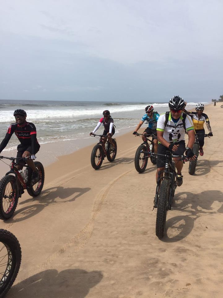 Cycling for fun