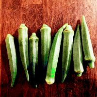okro, okra, lady's fingers is a superfood